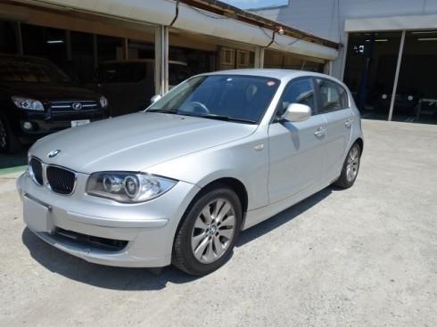 BMW 116iフロント回り保険修理
